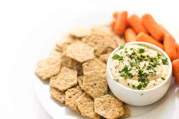 White Bean Dip With Garlic and Rosemary