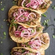 Slow Cooker Pork Carnitas - an easy Mexican recipe