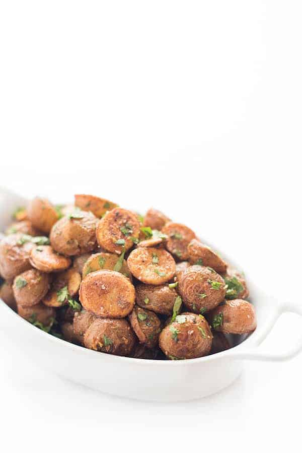 Spicy Lebanese Roasted Potatoes Recipe