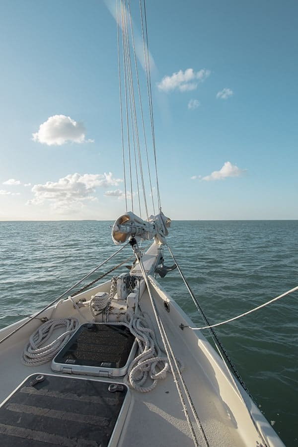 Danger Charters Wind and Wine Sail Key West Tour