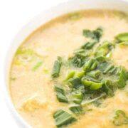 Egg Drop Soup - Healthy Recipe Gluten Free