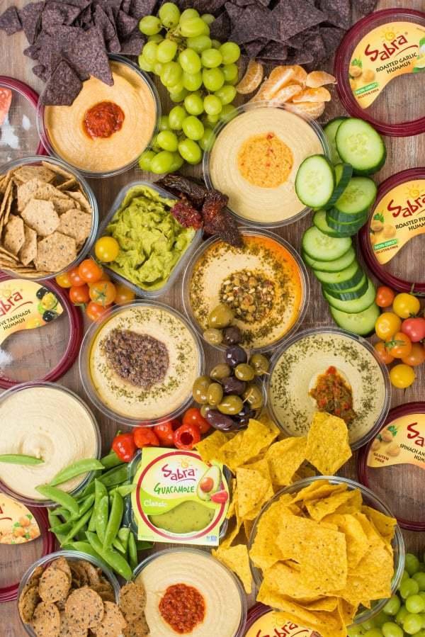 Hummus Platter Appetizer