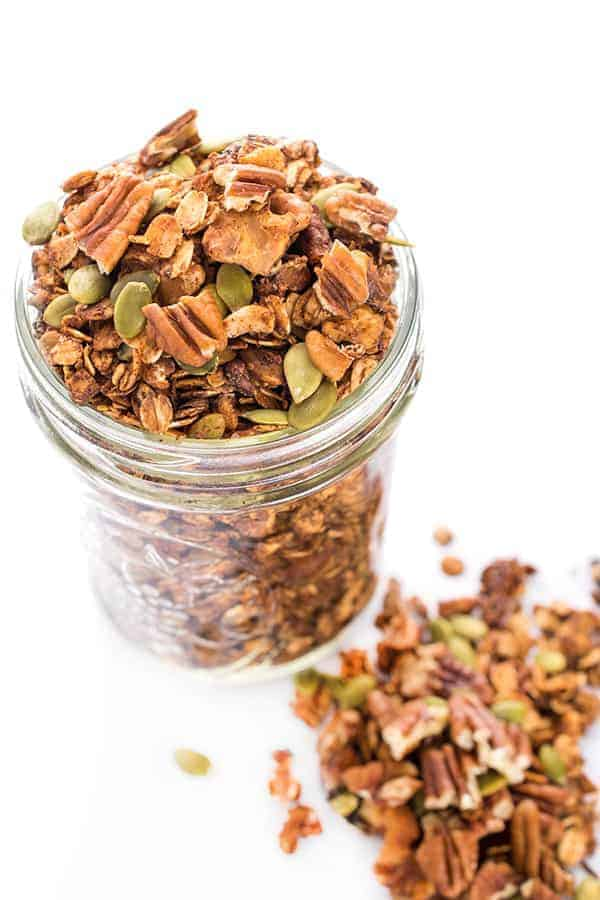 High Protein Healthy Granola