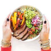 Steak Fajita Rice Bowls Recipe