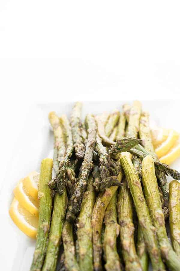 Asparagus Roasted with Za'atar - Gluten Free Side Dish Recipe