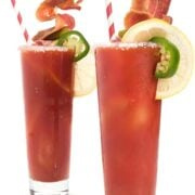 Spicy Bloody Mary Recipe with Bacon
