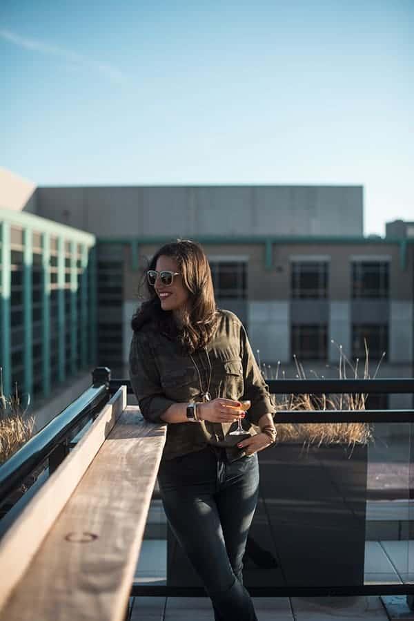 Pod DC Hotel Rooftop Bar Liz