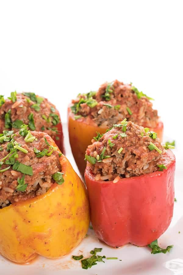 Lebanese Stuffed Peppers Recipe