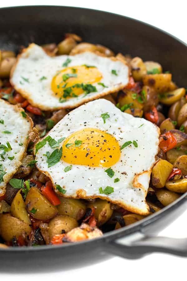 Veggie Hash Breakfast Skillet Recipe