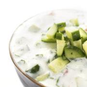 Cucumber Yogurt Raita