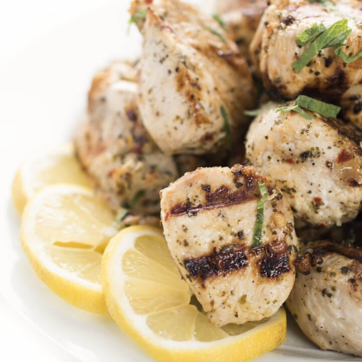 Grilled Chicken Souvlaki
