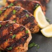 Grilled Pork Chops Healthy Dinner Recipe