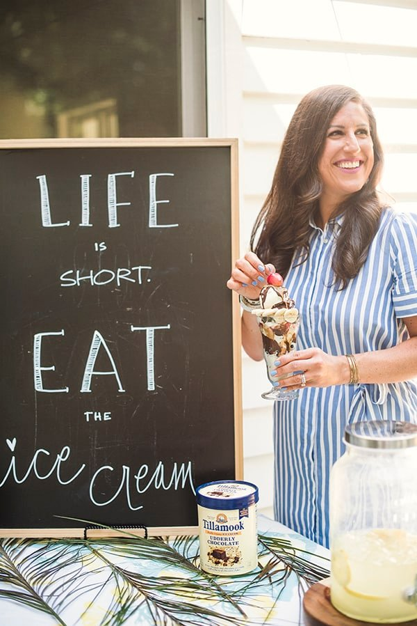 Liz Life is Eat Short Eat the Ice Cream