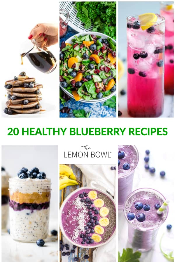 10 Healthy Blueberry Recipes - The Lemon Bowl®