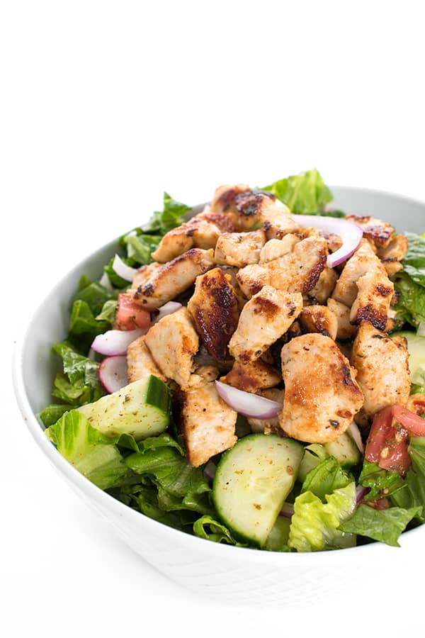 Chicken Tawook Salad