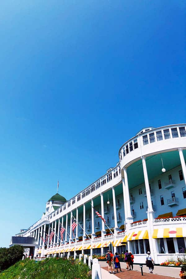 Family Friendly Guide To Mackinac Island's Grand Hotel
