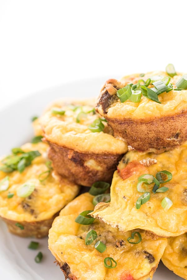 Cheesy Sausage and Potato Egg Cups