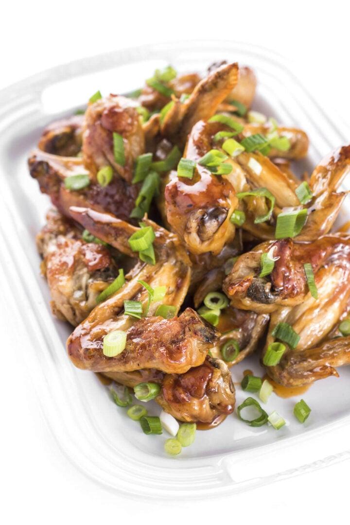 oven baked crispy chicken wings