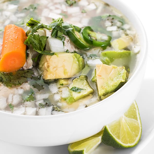 Mexican Chicken Soup The Lemon Bowl