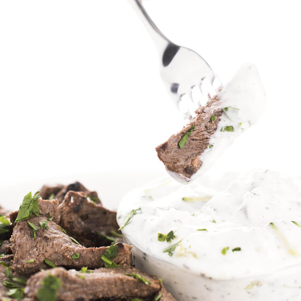 Easy Lebanese Beef Shawarma