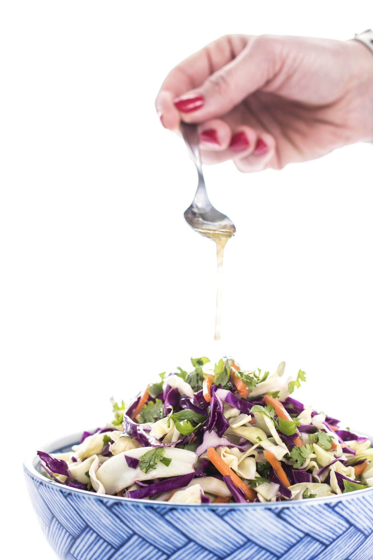 Mexican Slaw with Honey Lime Dressing Recipe