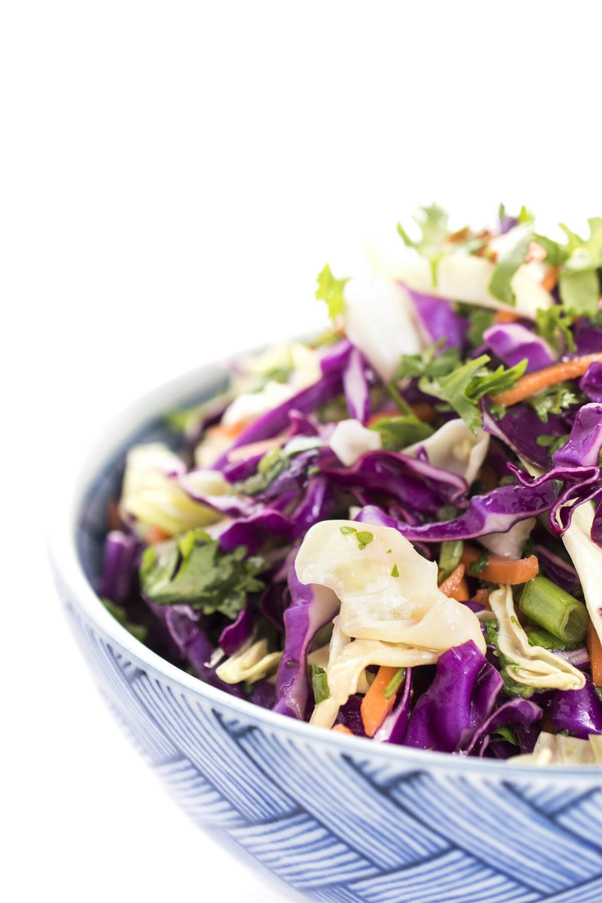 mexican slaw in a bowl