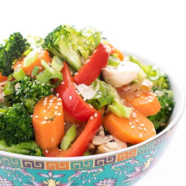 Chinese Mixed Vegetables Stir Fry The Lemon Bowl