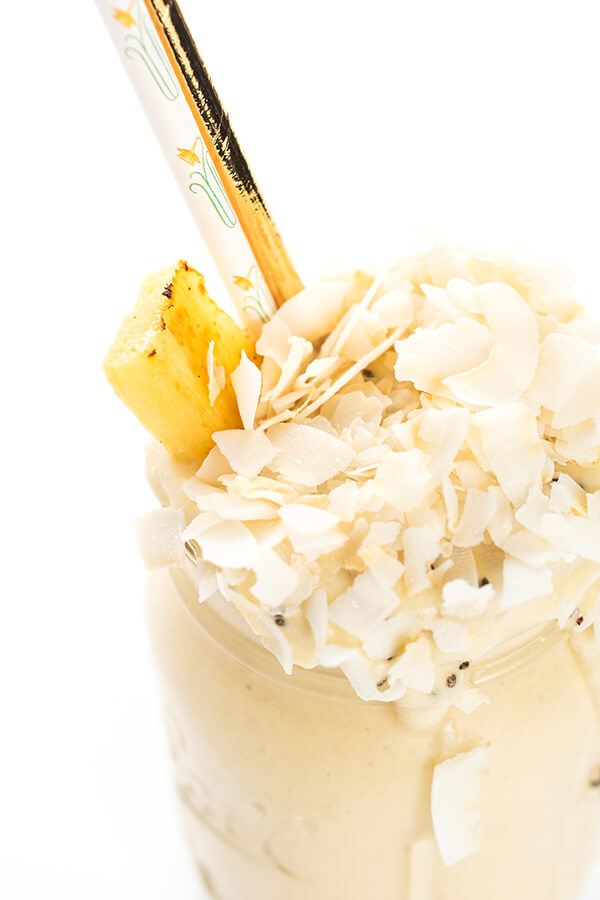 Caramelized Pineapple Smoothie