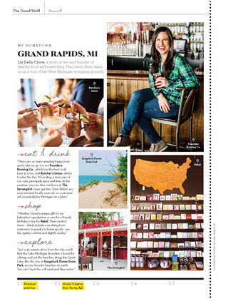 Liz Della Croce Featured in GoodHousekeeping Magazine June 2019