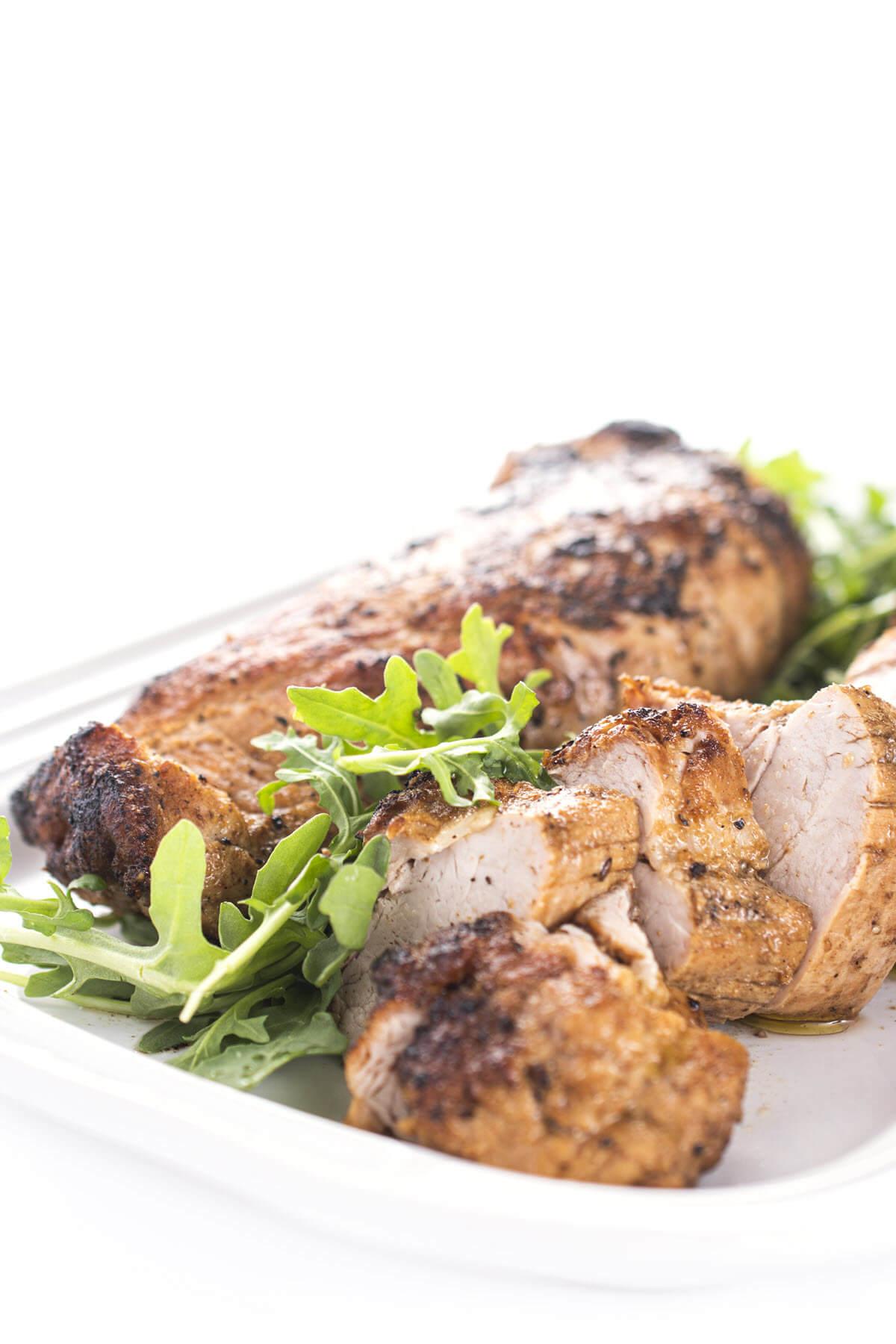 Glazed Pork Tenderloin