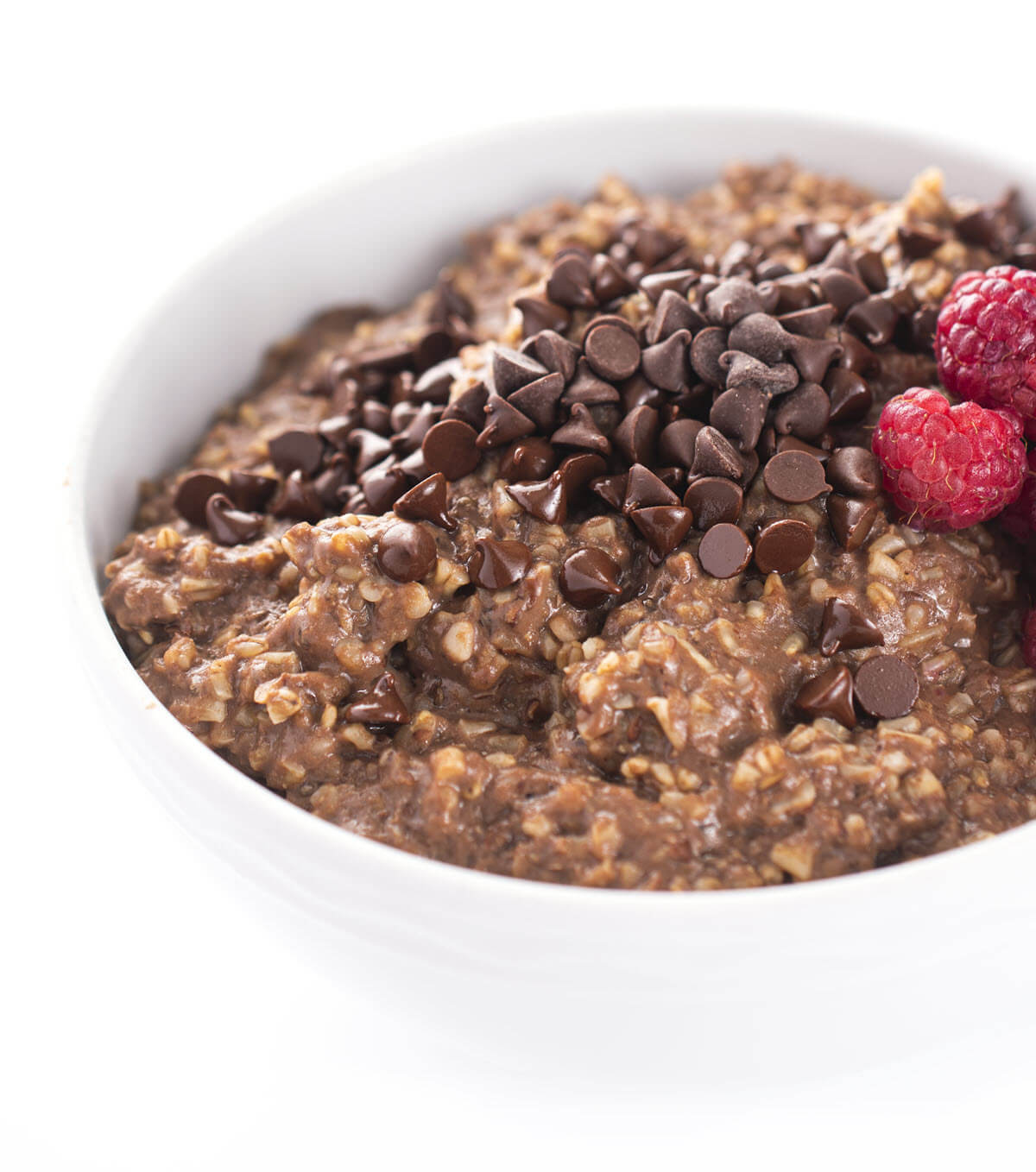 High Protein Chocolate Steel Cut Oats