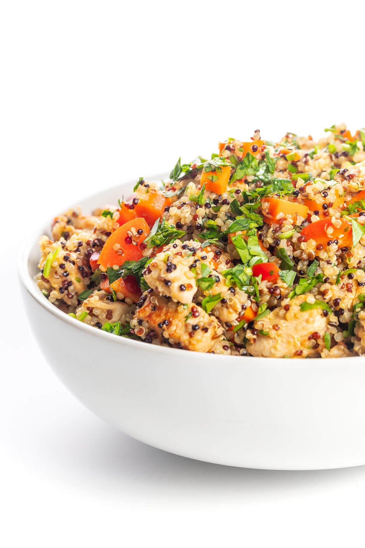 Lebanese quinoa salad