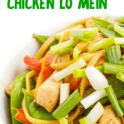 Chicken Lo Mein pin