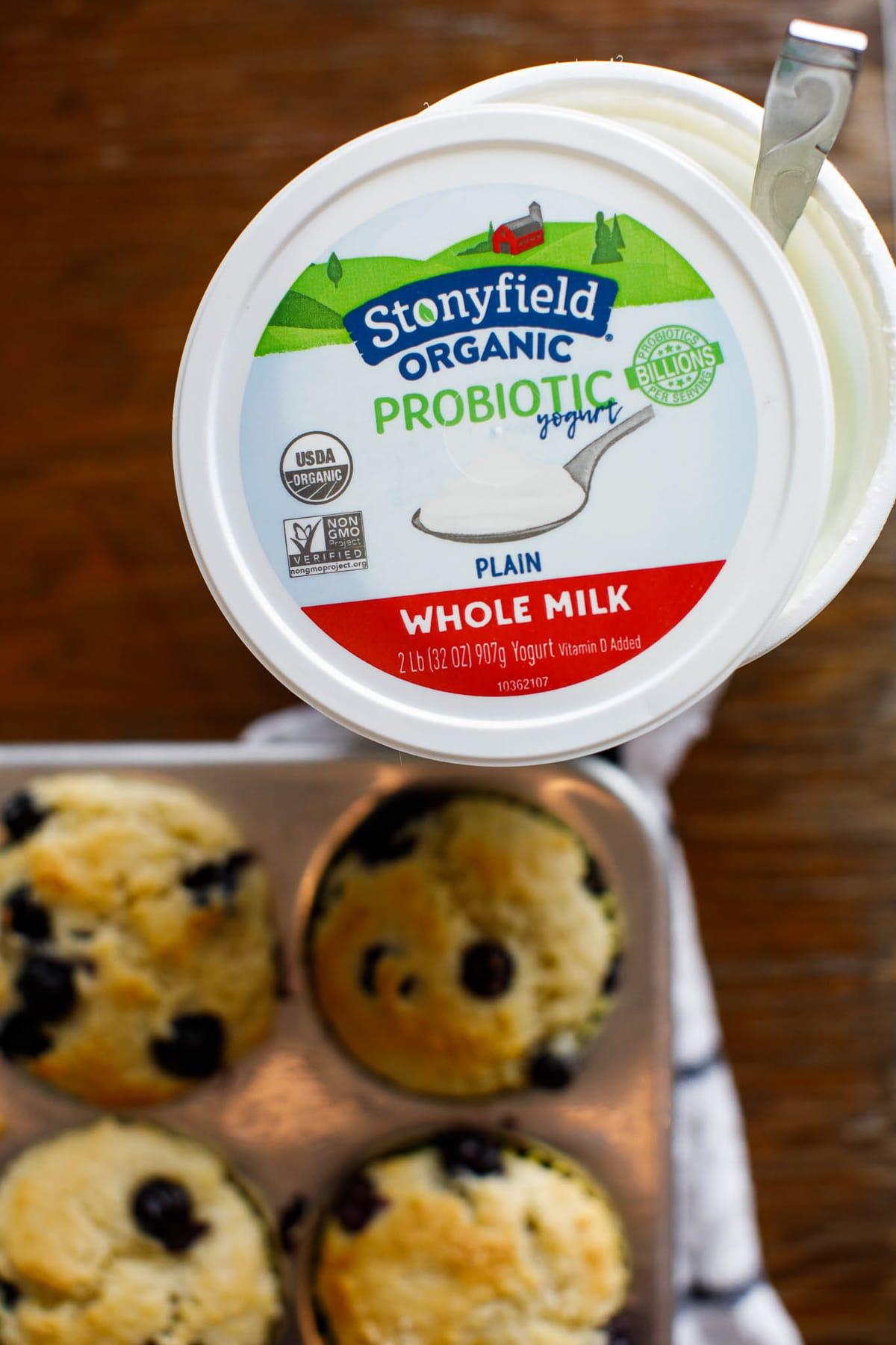 stonyfield yogurt