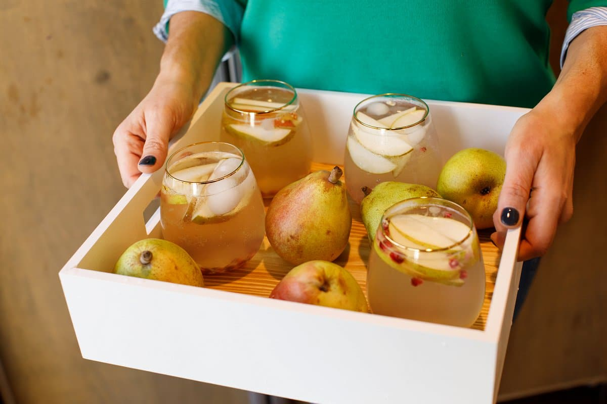 Pear Moscow Mules with Pears