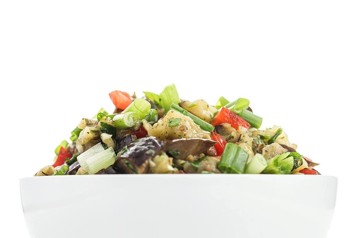 lebanese eggplant salad