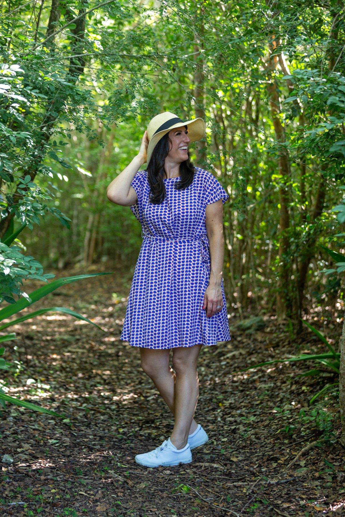 Liz exploring Turks and Caicos