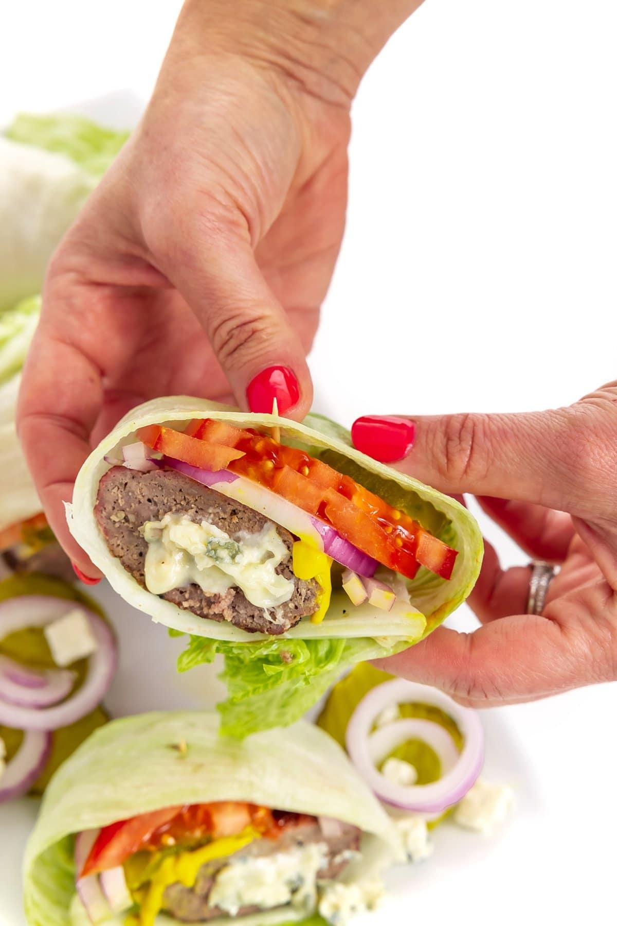 Low carb burgers